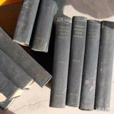 Enciclopedias antiguas: DICCIONARIO HISPANO AMERICANO Nº 1-4-11-5-16-25-8-27-9-20-23-10-3-13-21-15 LOTE. Lote 152284166