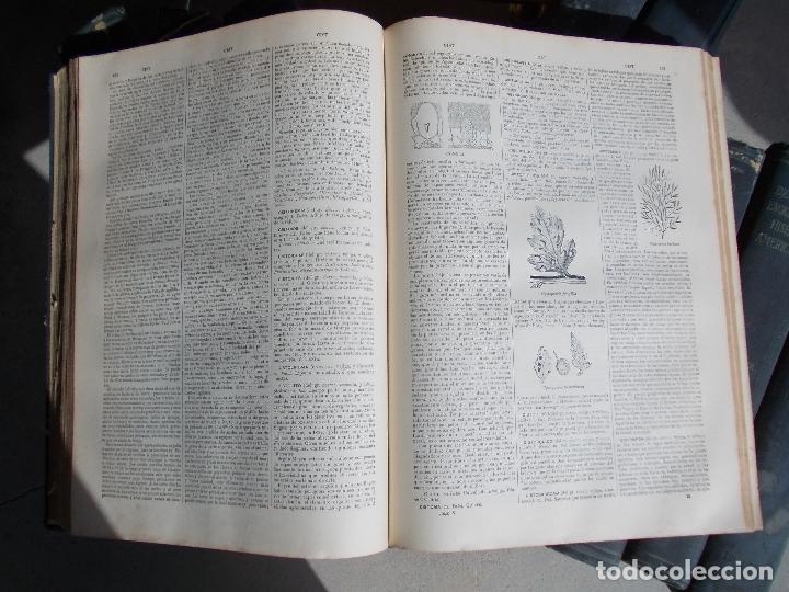 Enciclopedias antiguas: Diccionario Hispano Americano nº 1-4-11-5-16-25-8-27-9-20-23-10-3-13-21-15 lote - Foto 3 - 152284166