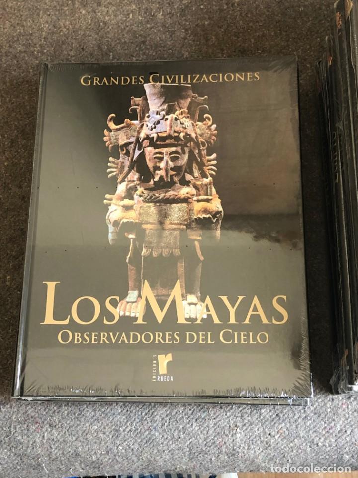 Enciclopedias antiguas: ENCICLOPEDIA GRANDES CIVILIZACIONES EDIT. RUEDA A ESTRENAR - Foto 4 - 152758150