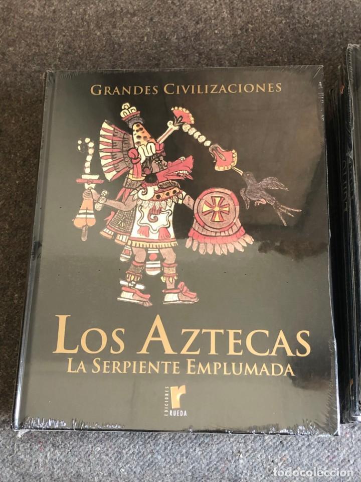 Enciclopedias antiguas: ENCICLOPEDIA GRANDES CIVILIZACIONES EDIT. RUEDA A ESTRENAR - Foto 6 - 152758150