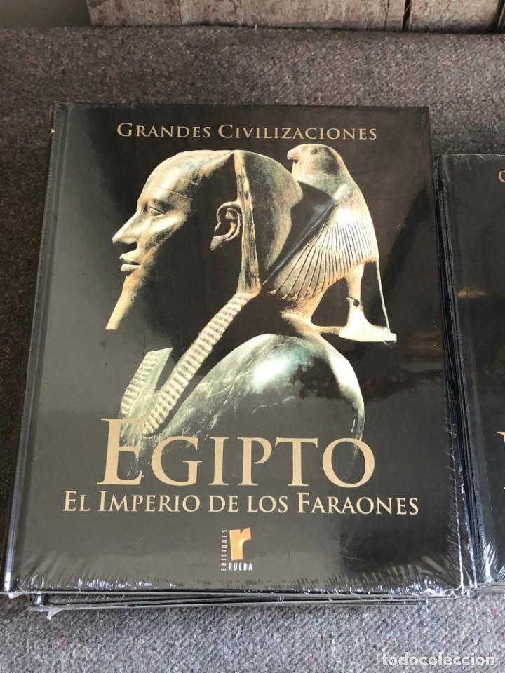 Enciclopedias antiguas: ENCICLOPEDIA GRANDES CIVILIZACIONES EDIT. RUEDA A ESTRENAR - Foto 8 - 152758150