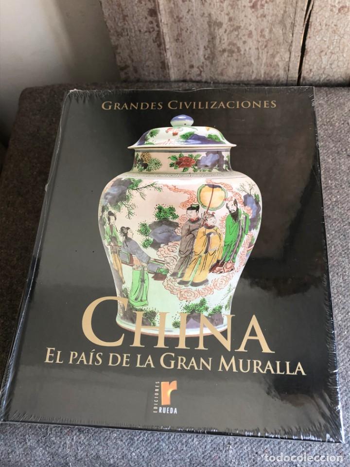 Enciclopedias antiguas: ENCICLOPEDIA GRANDES CIVILIZACIONES EDIT. RUEDA A ESTRENAR - Foto 11 - 152758150