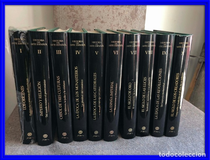 ENCICLOPEDIA HISTORIA DEL ARTE ESPAÑOL ED. PLANETA A ESTRENAR (Libros Antiguos, Raros y Curiosos - Enciclopedias)