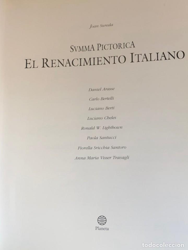 Enciclopedias antiguas: ENCICLOPEDIA HISTORIA UNIVERSAL DE LA PINTURA SUMMA PICTORICA. ED. PLANETA - Foto 7 - 152827130