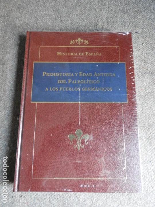 Enciclopedias antiguas: ENCICLOPEDIA HISTORIA DE ESPAÑA EN 8 VOLUMENES COMPLETA - Foto 4 - 153082246