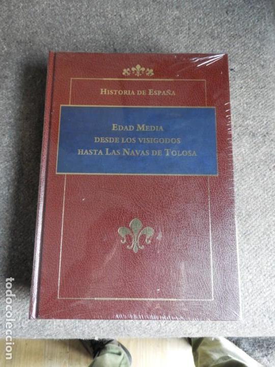Enciclopedias antiguas: ENCICLOPEDIA HISTORIA DE ESPAÑA EN 8 VOLUMENES COMPLETA - Foto 5 - 153082246