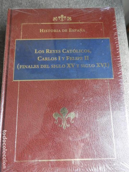 Enciclopedias antiguas: ENCICLOPEDIA HISTORIA DE ESPAÑA EN 8 VOLUMENES COMPLETA - Foto 7 - 153082246