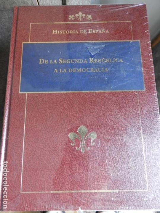 Enciclopedias antiguas: ENCICLOPEDIA HISTORIA DE ESPAÑA EN 8 VOLUMENES COMPLETA - Foto 10 - 153082246