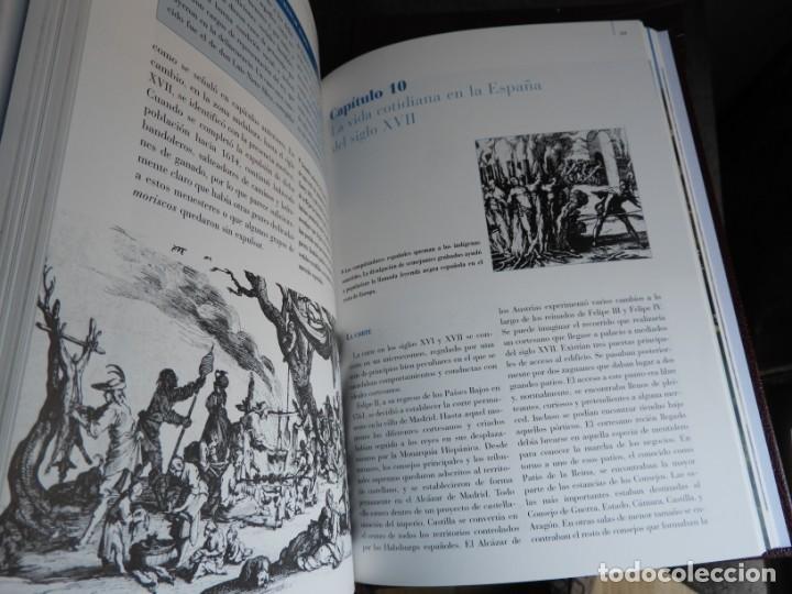 Enciclopedias antiguas: ENCICLOPEDIA HISTORIA DE ESPAÑA EN 8 VOLUMENES COMPLETA - Foto 13 - 153082246
