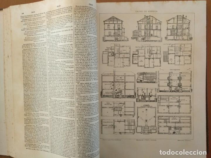 Enciclopedias antiguas: MAPA ISLAS CANARIAS, CALDERAS, CAÑONES Y CUREÑAS, CARCEL MODELO BARCELONA. TOMO IV DICCIONARIO - Foto 5 - 153669178