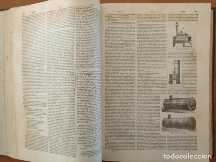 Enciclopedias antiguas: MAPA ISLAS CANARIAS, CALDERAS, CAÑONES Y CUREÑAS, CARCEL MODELO BARCELONA. TOMO IV DICCIONARIO - Foto 6 - 153669178
