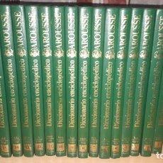 Enciclopedias antiguas: DICCIONARIO ENCICLOPEDICO LAROUSSE COMPLETO, 16 TOMOS. Lote 154435810