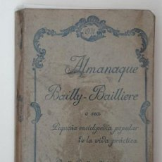 Enciclopedias antiguas: ALMANAQUE BAILLY-BAILLERE 1931. Lote 156738862