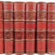 Enciclopedias antiguas: HISTORIA DE ESPAÑA SIGLO XIX.FRANCISCO PI Y MARGALL. EDIT. M.SEGUÍ.BARCELONA1902. Lote 156803718