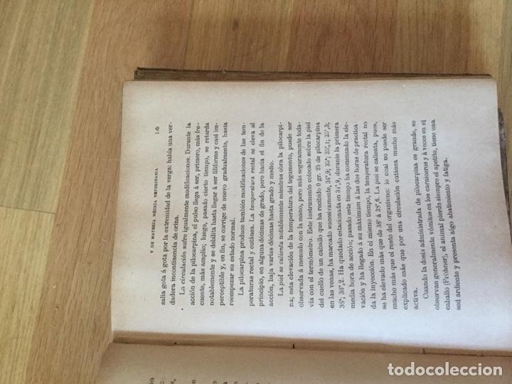 Enciclopedias antiguas: Dos tomos de enciclopedia veterinaria - Foto 4 - 158353674