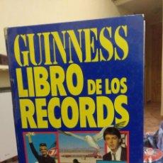 Enciclopedias antiguas: LIBRO GUINNESS DE LOS RECORDS 1981. Lote 158562626