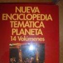Enciclopedias antiguas: NUEVA ENCICLOPEDIA TEMÁTICA PLANETA MUSICA Y CINE. Lote 160427706
