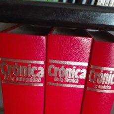 Enciclopedias antiguas: CRÓNICAS. Lote 161888978