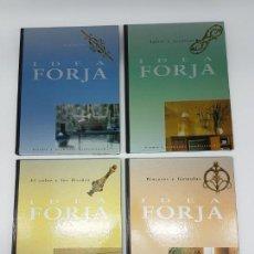 Enciclopedias antiguas: LOTE DE 4 TOMOS IDEA FORJA, PINTURA Y ACABADOS PROFESIONALES ( 2000) IDEA BOOKS. Lote 162210018