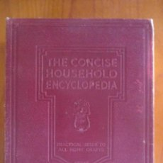 Enciclopedias antiguas: THE CONCISE HOUSEHOLD ENCYCLOPEDIA. COMPLETE IN ONE VOLUME. LONDON. 6.000 ILLUSTRATIONS. Lote 162358714