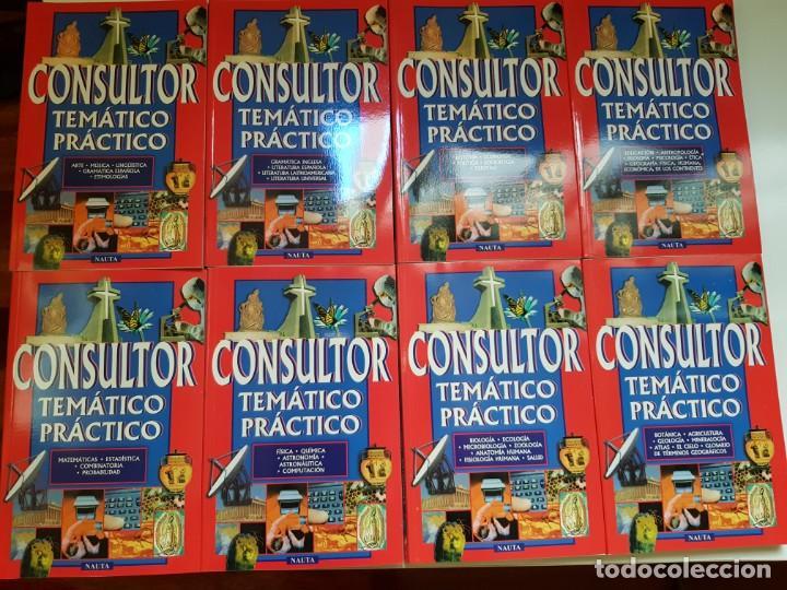 CONSULTOR TEMÁTICO PRACTICO 8 TOMOS (Libros Antiguos, Raros y Curiosos - Enciclopedias)