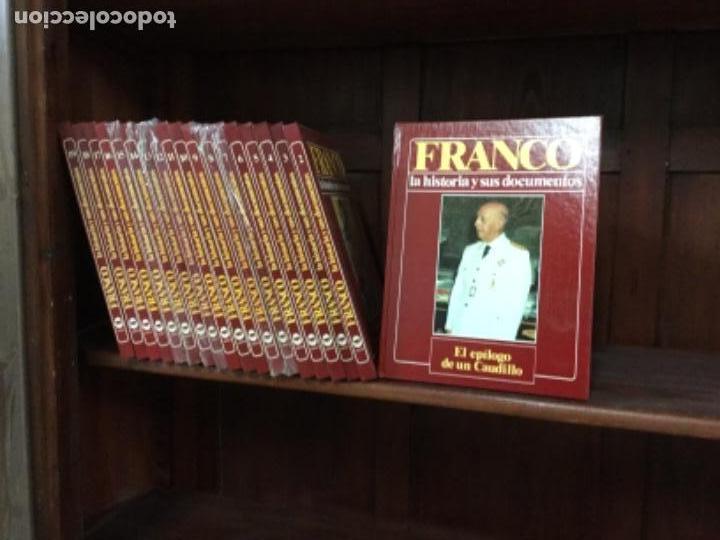 Enciclopedias antiguas: Enciclopedia biografía de FRANCO, nueva, 19 tomos, falta 1 - Foto 3 - 109173639