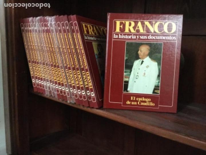 Enciclopedias antiguas: Enciclopedia biografía de FRANCO, nueva, 19 tomos, falta 1 - Foto 2 - 109173639