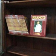 Enciclopedias antiguas: ENCICLOPEDIA BIOGRAFÍA DE FRANCO, NUEVA, 19 TOMOS, FALTA 1. Lote 109173639