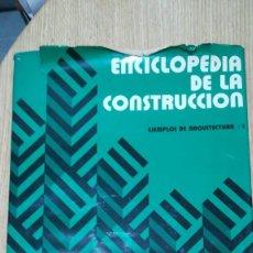 Enciclopedias antiguas: ENCICLOPEDIA DE LA CONSTRUCCIÓN. Lote 164762402