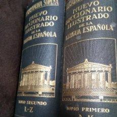 Enciclopedias antiguas: ENCICLOPEDIA SOPENA. NUEVO DICCIONARIO ILUSTRADO DE LA LENGUA ESPAÑOLA. AÑO 1933. 5° EDICIÓN. LUJOSA. Lote 165495056