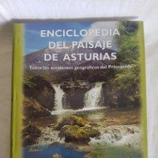 Enciclopedias antiguas: ENCICLOPEDIA DEL PAISAJE DE ASTURIAS. Lote 166403058