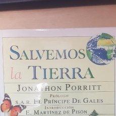 Enciclopedias antiguas: SALVEMOS LA TIERRA - JONATHON PORRITT - GRAN TAMAÑO Y MUY ILUSTRADO ED AGUILAR . Lote 166428102