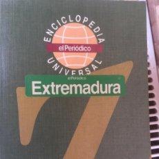Enciclopedias antiguas: ENCICLOPEDIA UNIVERSAL,COLECCION DE 20 LIBROS DEL PERIODICO. Lote 166711202