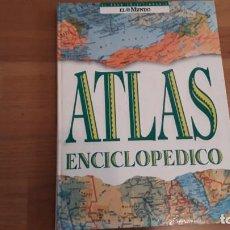 Enciclopedias antiguas: ATLAS ENCILOPEDICO DEL MUNDO. 35 X 26 CTMS. Lote 167142056