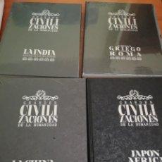 Enciclopedias antiguas: GRANDES CIVILIZACIONES DE LA HUMANIDAD. Lote 169316596