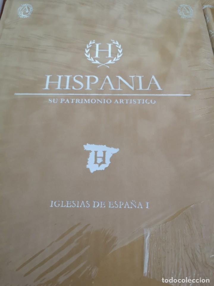 Enciclopedias antiguas: Hispania su patrimonio artístico Abanteras ediciones - Foto 2 - 169318812
