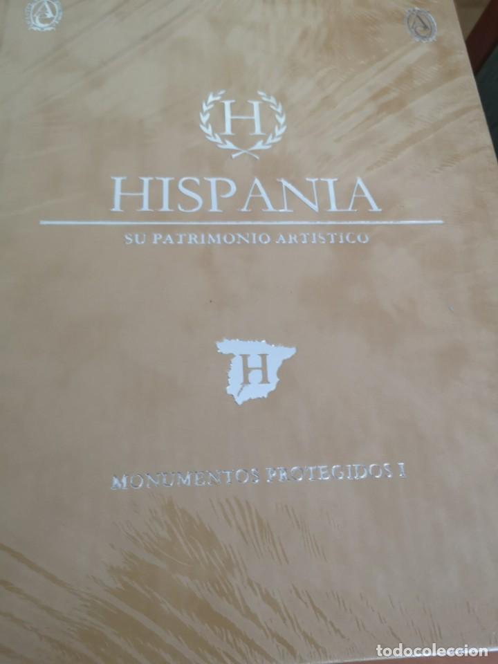 Enciclopedias antiguas: Hispania su patrimonio artístico Abanteras ediciones - Foto 3 - 169318812