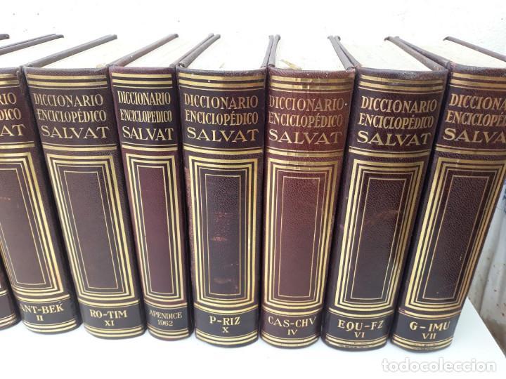 Enciclopedias antiguas: enciclopedia salvat - Foto 4 - 169667760