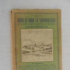 Enciclopedias antiguas: COMO SE CURA LA TUBERCULOSIS - LO QUE SE DEBE DE HACER Y LO QUE NO - F WUND 1930. Lote 169705140