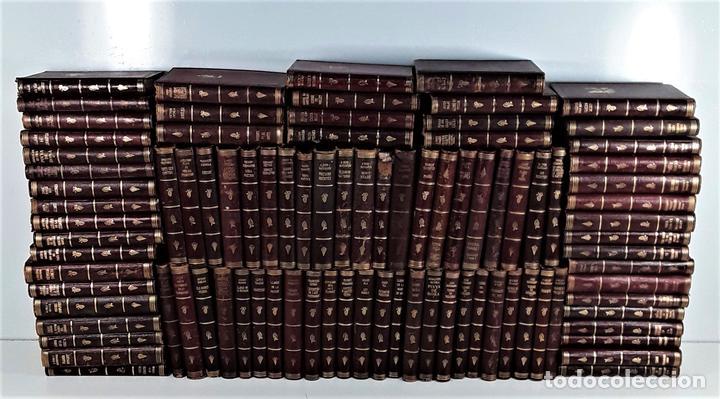 BIBLIOTECA SELECTA. 91 EJEMPLARES. BARCELONA. SIGLO XX. (Libros Antiguos, Raros y Curiosos - Enciclopedias)
