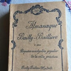 Enciclopedias antiguas: ALMANAQUE BAILLY . BAILLIERE 1933. Lote 171054567