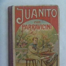 Enciclopedias antiguas: JUANITO DE L.A. PARRAVICINI . PALUZIE, BARCELONA , 1935. Lote 263023535
