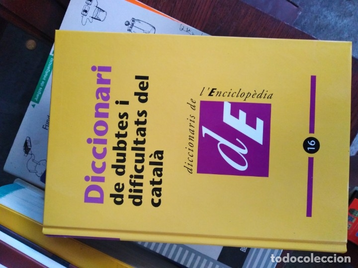 ENCICLOPEDIA DICCIONARIO (Libros Antiguos, Raros y Curiosos - Enciclopedias)