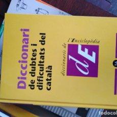 Enciclopedias antiguas: ENCICLOPEDIA DICCIONARIO . Lote 173092912