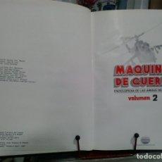Enciclopedias antiguas: LMV - MAQUINAS DE GUERRA, ENCICLOPEDIA DE LAS ARMAS DEL SIGLO XX. TOMO 2. Lote 173582510