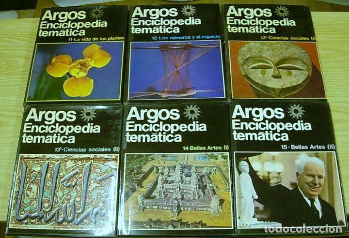 Enciclopedias antiguas: ENCICLOPEDIA TEMATICA ARGOS VERGARA 22 TOMOS 1970 Completa Excelente !!! - Foto 2 - 173973765