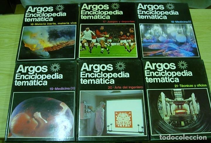Enciclopedias antiguas: ENCICLOPEDIA TEMATICA ARGOS VERGARA 22 TOMOS 1970 Completa Excelente !!! - Foto 3 - 173973765