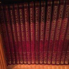 Enciclopedias antiguas: ENCICLOPEDIA SALVAT 16 TOMOS. COMPLETA. Lote 174274749