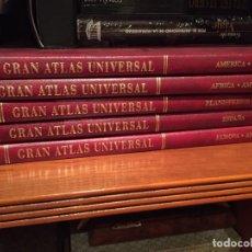 Enciclopedias antiguas: GRAN ATLAS UNIVERSAL 5 TOMOS. ED SALVAT. Lote 174274802