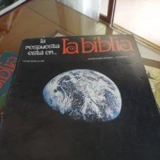 Enciclopedias antiguas: LA BIBLIA: 48 SUPLEMENTOS HISTORICOS 1970- EDITORIAL MIÑON Y. Lote 175126052